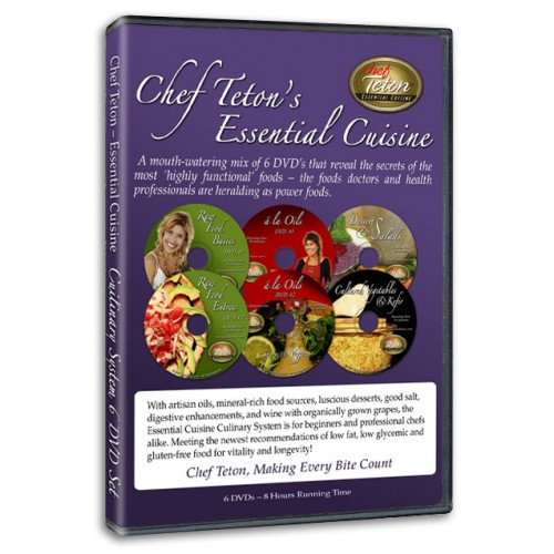 Essential Cuisine - Raw, Cooked & Cultured Food (6 DVDs)