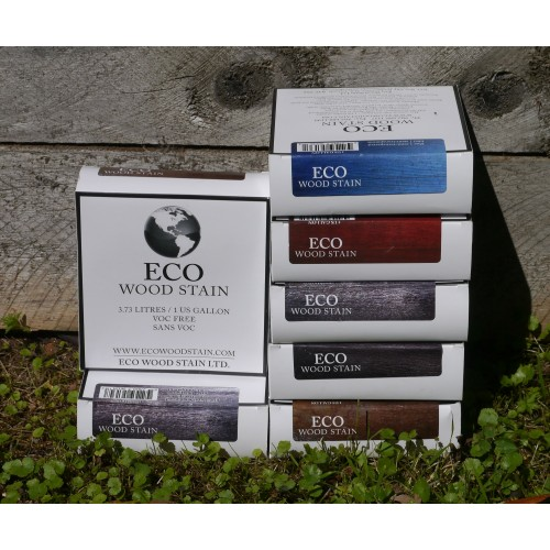 Eco Wood Stain - Coloured 3.7 litre pack