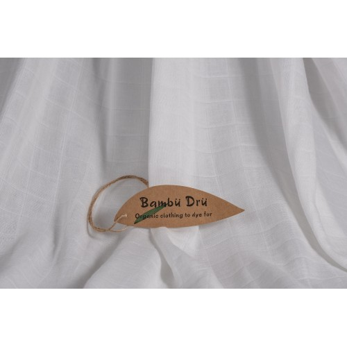 100g/m2 Muslin - Organic Cotton & Bamboo Fabric